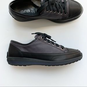 Ara lace up soft leather  comfortable shoes size 8